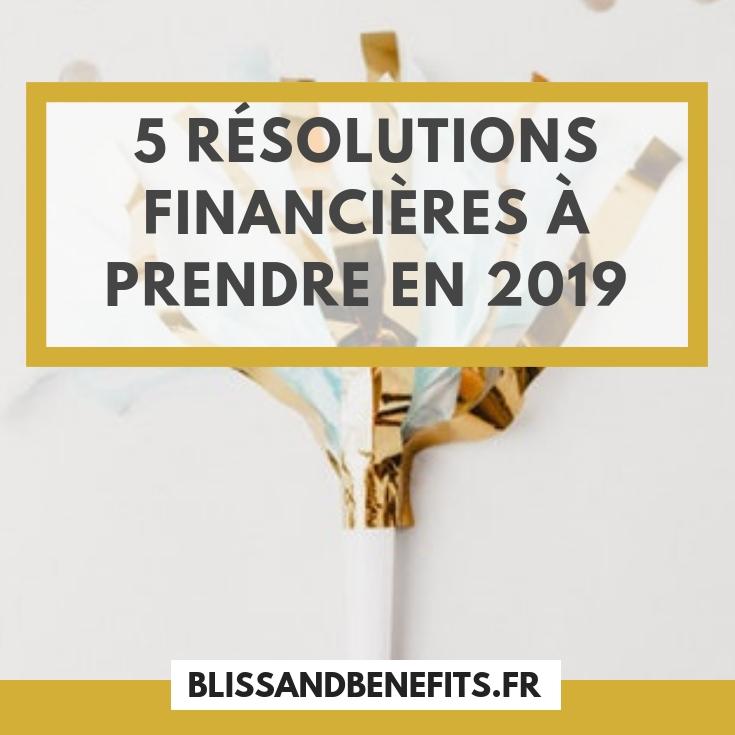 résolutions financières 2019